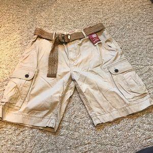 NWT Arizona cargo shorts 34